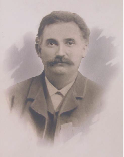 Peter Boarts ca. 1880s. Image courtesy the State Historical Society of Iowa.