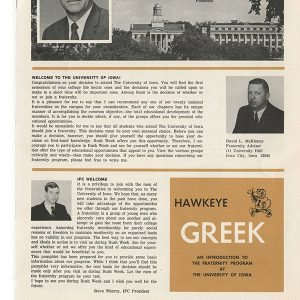 Hawkeye Greek brochure