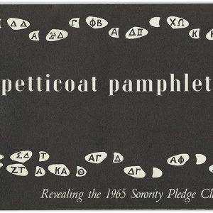 Petticoat pamphlet