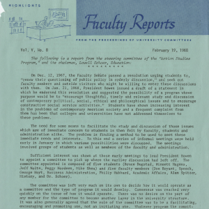 Action Studies founding Document