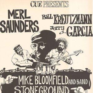 Saunders, Kreutzmann, Garcia poster