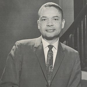 Portrait of Philip G. Hubbard, 1966