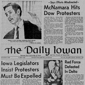 Daily Iowan Student Newspaper