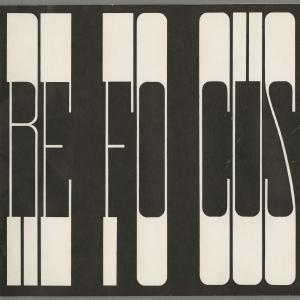 Refocus '71 brochure