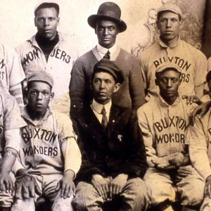 Buxton Wonders Baseball Team, Monroe County, Office of the State Archaeologist Photograph Collection