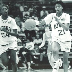 1991 Yearbook, Women's Basketball