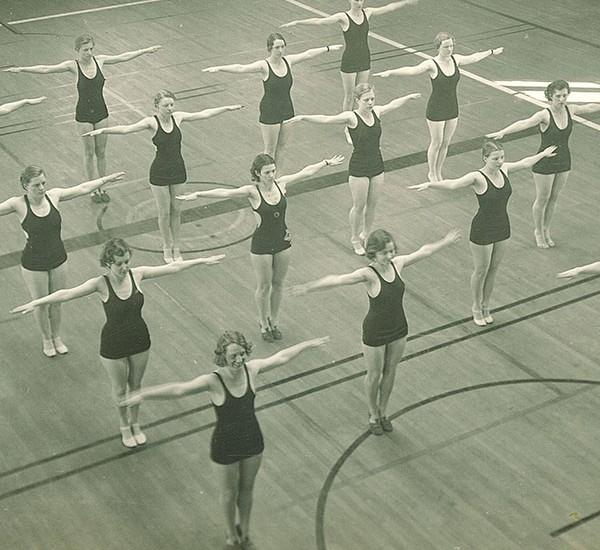 Calisthenics, 1934