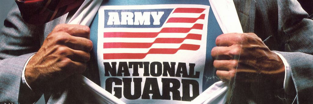 Army National Guard Poster