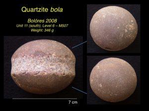 Quartzite bola