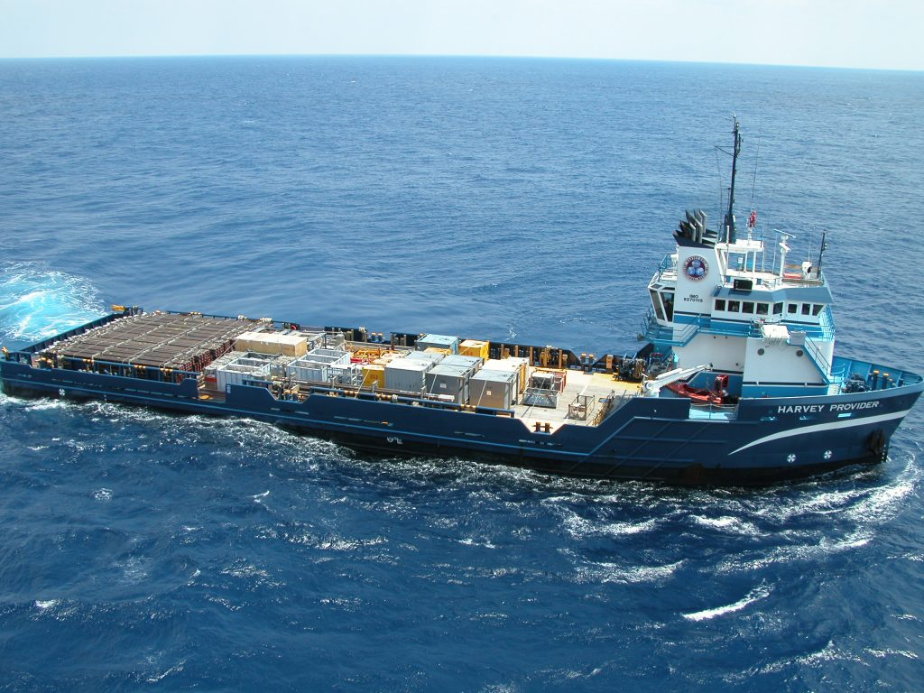 Harvey Provider Platform Supply Vessel - Woody Woodward, May 2009