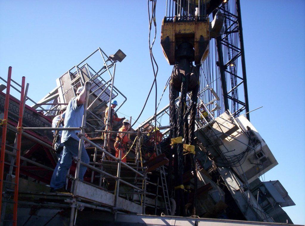 Fifty-Ton Lift - Woody Woodward, November 2005
