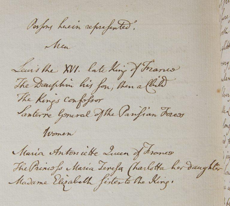 Handwritten text