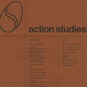 Action Studies Poster