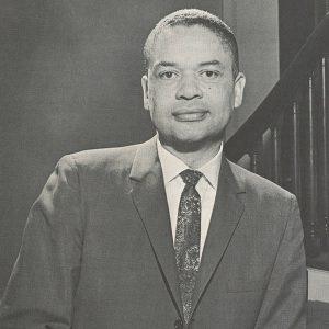 Portrait of Philip G. Hubbard, 1966