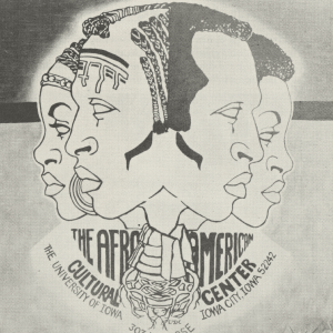 Afro American Cultural Center flier, 1970